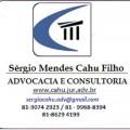 Correspondente Jurídico: Advogado em Recife, PE - SÉRGIO CAHU - ADVOCACIA E CONSULTORIA JURÍDICA