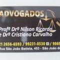 Profº Drº Nilson Ricardo & Drº Cristiano Carvalho, Advogado e Correspondente Jurídico em São João de Meriti, RJ