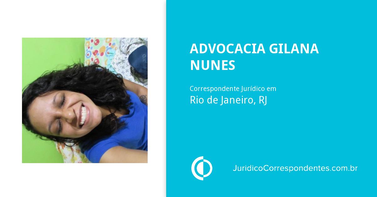 947fef318e743 Advocacia Gilana Nunes, Bacharel em Direito e Correspondente Jurídico em Rio  de Janeiro, RJ   Jurídico Certo